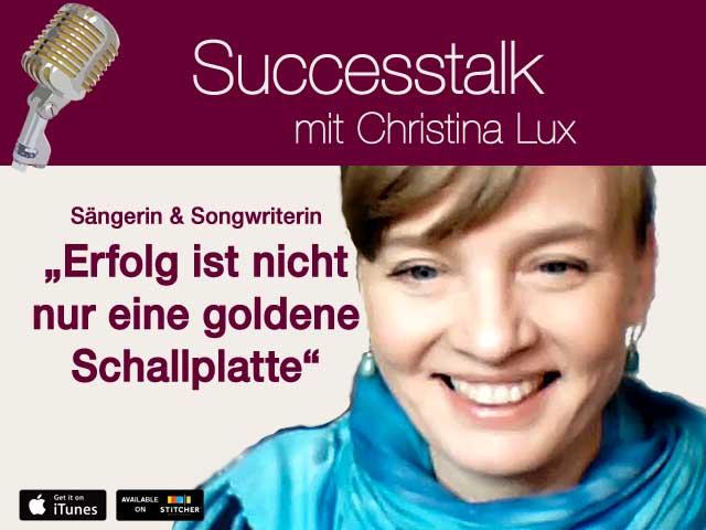 Christina Lux, Sängerin und Songwriterin