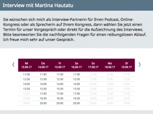 Interview mit Martina Hautau